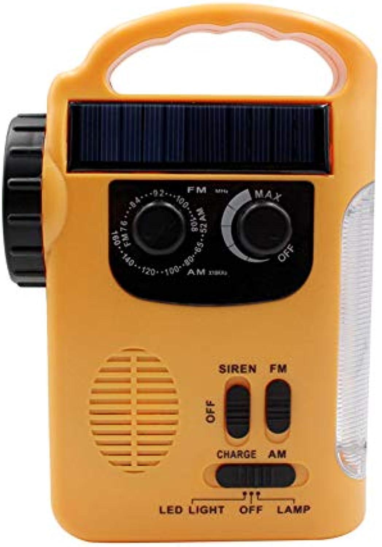 Solar-Taschenlampe Solar Camping Licht Radio LED Taschenlampe Solar Hand Taschenlampe