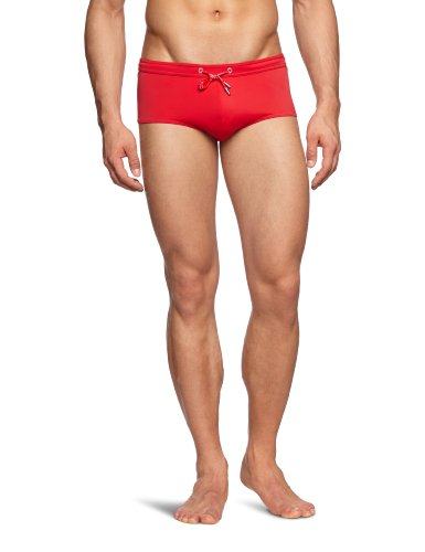 Bruno Banani - Short de Bain - Homme - Rouge (Rot) - FR : 50 (Taille Fabricant : S)