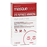 masque BAR Eye Mask Patches Minimizing Puffiness (5 Pairs) — Korean Under Eye Skin Care Treatment — Minimize the Appearance of Eye Puffiness, Increase Elasticity of Eye Area — Hydrates & Smooths Skin