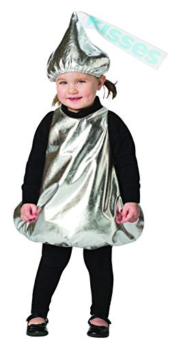 Hershey Kiss Costume Kids Hershey's Chocolate Kisses Candy Child Size 12-24 Mos