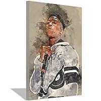 YoungBoyは二度と壊れませんポスター絵画キャンバスの装飾男の子のリビングルームの寝室の装飾キャンバスアートプリント壁アート写真絵画30x45cm(12x18inch)フレームなし