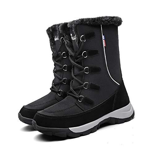 Mujer Botas Raquetas Nieve Zapatos Invierno Prueba