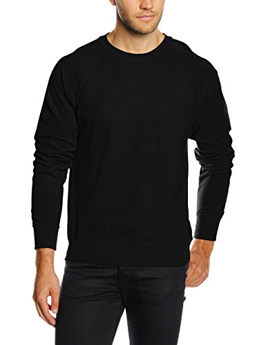 Fruit of the Loom Ss063m Sudadera, Negro, XX-Large para Hombre