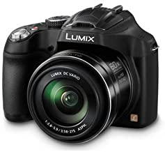 Panasonic Lumix DMC-FZ70 Digital Camera, 60x Optical Zoom, 16MP (Black) +4GB SDHC Card
