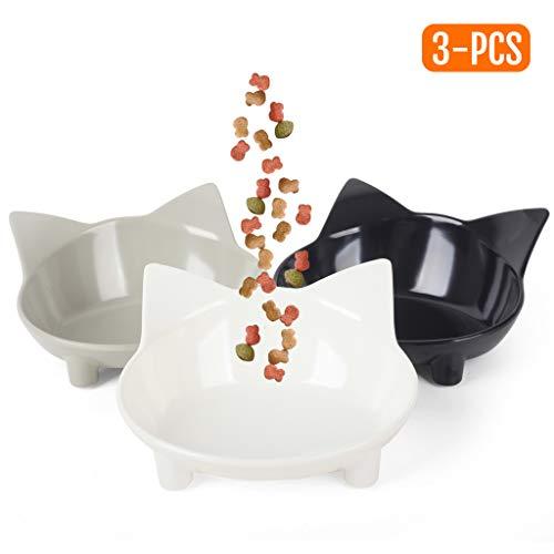 Cotill Cat Bowls, Anti-slip Mult...