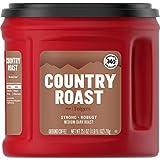Folgers Country Roast Medium Dark Roast Ground Coffee, 25.1 Ounces (Pack of 6)