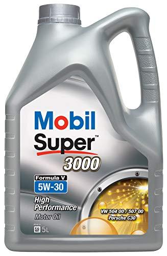 Mobil 154447 Super 3000 Formula V 5W-30, 5L