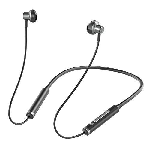 スポーツ Bluetooth イヤホン EVIO ブルートゥース イヤホン Bluetooth 5.0 最大20時間連続再生 ワイヤレスイヤホン SBC/AAC対応 IPX7防水 ハンズフリー通話 キャッチホン機能付け 音声アシスト機能 CVC8.0ノイズ