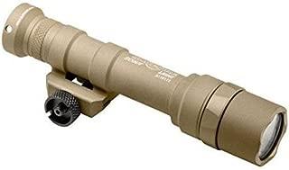 M600U-Z68-TN Scout Light, 6V, M75 Thumb Screw Mount, 600 Lumens, Tan, Z68 Click On/Off Tailcap