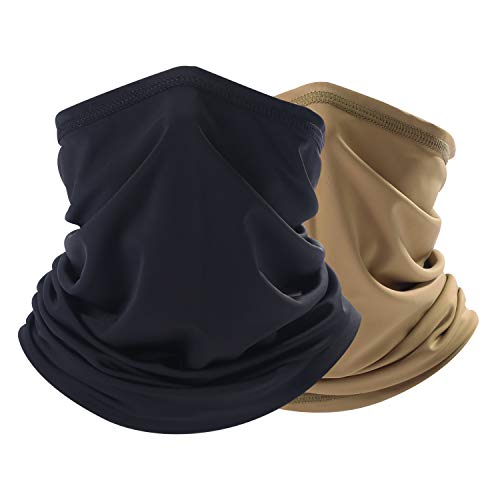 THINDUST Summer Bandana Face Cover - Sun Protection Neck Gaiter - Fishing face Scarf