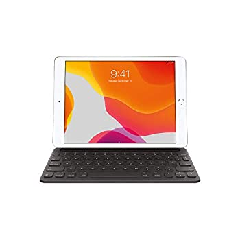 Apple Smart Keyboard for iPad  7th and 8th Generation  and iPad Air  3rd Generation  - US English  Renewed