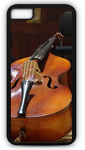 iPhone 6s Case Fits iPhone 6s or iPhone 6 Cello String Instrument Classic Music 20558 Black Rubber by TYD Designs