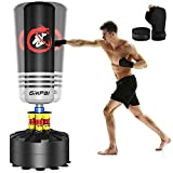 GIKPAL Freestanding Punching Bag 69'' - 182lbs Heavy Boxing Bag Free Stand Kickboxing Bag with 2 Hand Warps for Adults Youth Men…