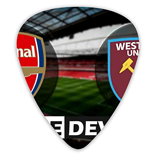 Arsenal Vs West Ham Gitarre Plektrum Plektron Picks x 12