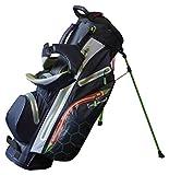 Score Industries Golf Hybridbag Standbag & Cartbag H311 - SUPERLEICHT & WASSERDICHT - 14er Divider...