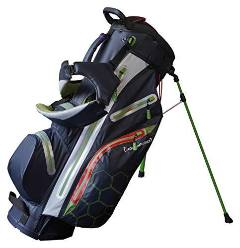 Score Industries Golf Hybridbag Standbag & Cartbag H311 - SUPERLEICHT & WASSERDICHT - 14er Divider System - Viel Zubehör - Golftasche Bag Trolley Bag Tasche Trolleybag
