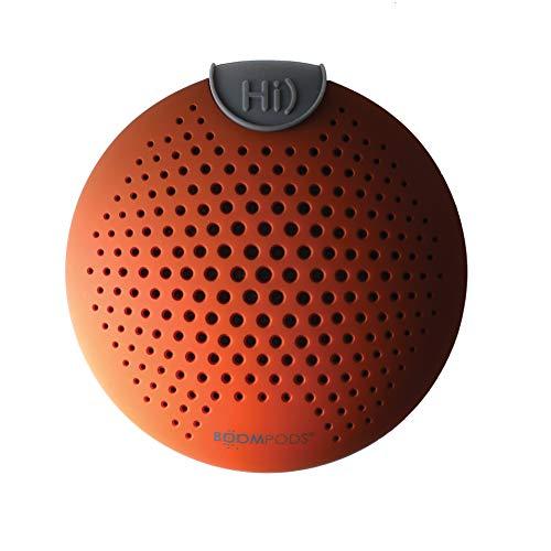 BOOMPODS SOUNDCLIP Portable Wireless Speaker - Best Mini Bluetooth Flip Clip Amazon Alexa Built-in Pocket Speakers Rockin Powerful Sub Bass Audio Sound