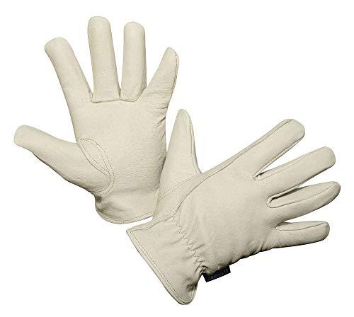 Kerbl 297113 Eco-Rancher Ziegennappaleder Handschuh, Größe 9