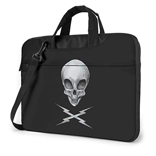 Skull Alien Fashion Laptop Case Laptop Shoulder Messenger Bag Sleeve for 15.6 Inch