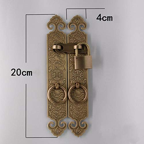 Gangkun grendelslot, deur- en raamslot, hangslot van puur koper