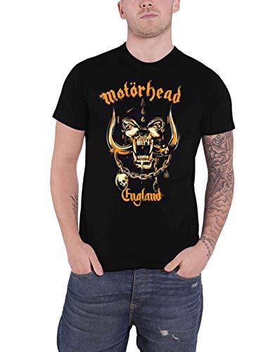 Motorhead T Shirt Mustard Warpig Band Logo Nue offiziell Herren