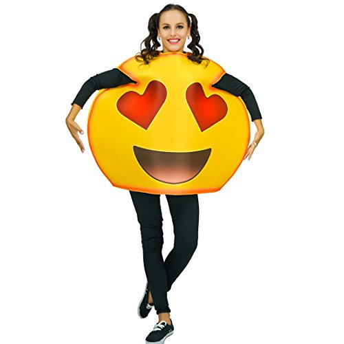 flatwhite Adult Unisex Emoticon Costumes One Size (Laugh Cry)