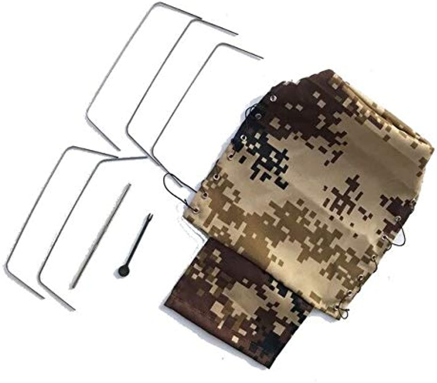 Canvas Truck Hood Cover Cloth for WPL B24 B16 1 16 Military Truck Rock Crawler RC Car DIY Spare Parts Camoufalge Three colors   Camouflage
