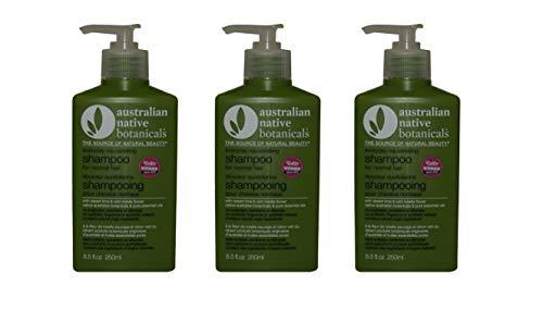 Australian Native Botanicals Normal Hair Shampoo 3 x 250ml