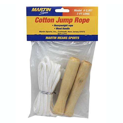 DICK Martin Sports Mascjr7 Coton Corde à sauter, 4,3 cm Hauteur, 11,7 cm de large, 17,5 cm de long, 7 '