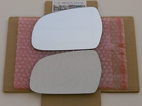 New Replacement Mirror Glass with FULL SIZE ADHESIVE for AUDI A3 A4 A5 S4 S5 Driver Side View Left LH SEE NOTES MORE THAN 1 OPTION AVAILABLE
