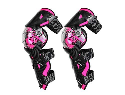 YDL Cojines De Rodilla De Motocicleta Seguridad Moto Protección Motocross Equipo Naranja Scooter Pierna Cubierta De Pierna Rodilla Calientes para Hombre 8 Colores (Color : E 18 PK Knee Pads)