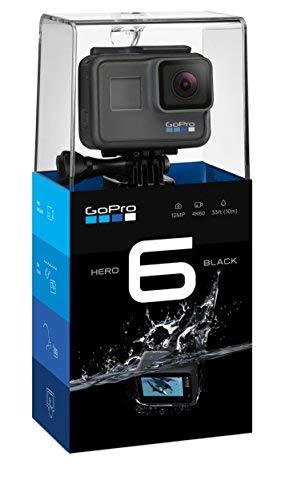 GoPro Hero6 Videocámara de acción (4K, 1...