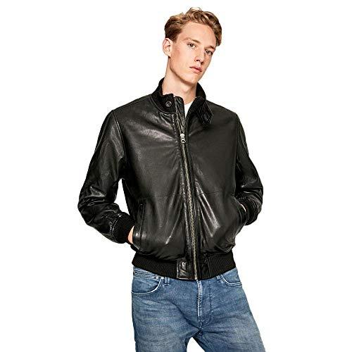 Pepe Jeans Freddie Chaqueta, Negro (Black 999), Talla única (Talla del Fabricante: X-Large) para Hombre