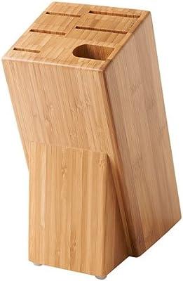 【IKEA/イケア】HYVLA ナイフ立て, 竹