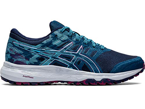 ASICS Women's Gel-Scram 5 Running Shoes, 11M, MAKO Blue/Aquarium