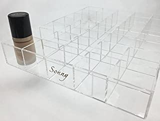 Sonny Cosmetics Acrylic Foundation Makeup drawer organizer for the Ikea Alex 35