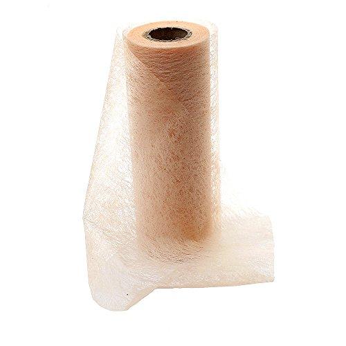 Vlies Band, Tischband Breite 23 cm Länge- 20 Meter Farbe lachs