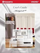 Husqvarna Viking Huskylock S25 User's Guide COLOR Comb-Bound Copy Reprint Of Sewing Machine Manual