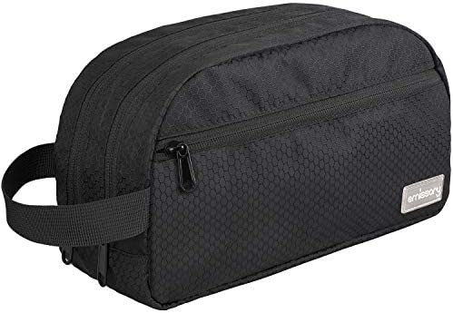 emissary Nylon Men s Toiletry Bag Large Waterproof Shower Bag Travel Toiletries Bag Dopp Kitt product image