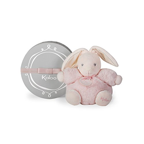 Kaloo K962153 Perle Chubby Rabbit Plush Toy 18 cm / 7.1'', Pink