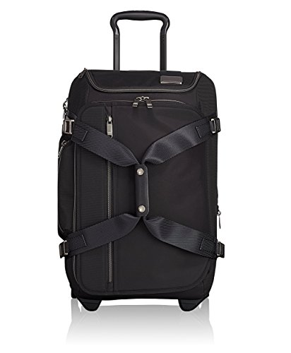 Tumi Merge Wheeled Duffel Carry-On Travel Duffle, 56 cm, Black (Black Contrast)
