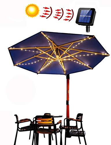 Best Solar Patio Umbrella Lights