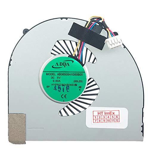 Lüfter Kühler Fan Cooler kompatibel für Lenovo Ideapad U330P, IdeaPad U330, IdeaPad U330 Touch, Model: AB06505HX050B00-00LZ5, DC5V-0.50A