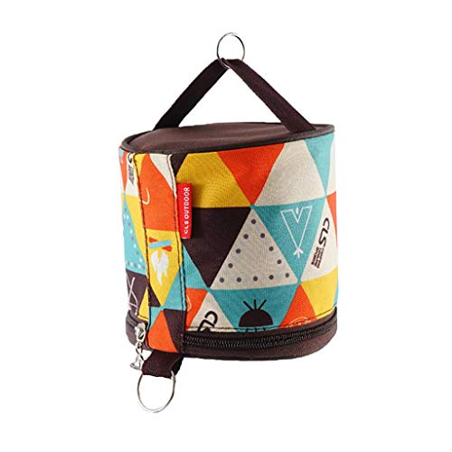 Perfeclan Waterproof Toilet Roll Case for Camping Outdoor Activity Toilet Paper Holder B