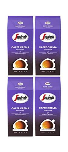 Segafredo Caffé Crema Gustoso 1000g 4er Pack