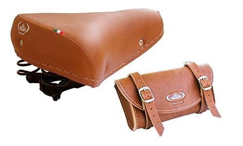 Sella Vintage Graziella Montegrappa MOD. 07/F+ Borsello Portaoggetti Montegrappa MOD. 0016