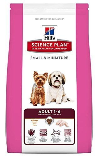 Hill's Hundefutter Small and Miniature Adult, 1.5 kg, 1er Pack (1 x 1.5 kg)