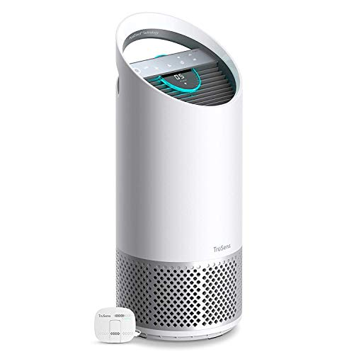 TruSens Air Purifier | 360 HEPA Filtration with Dupont Filter | UV-C Light | Dual Airflow for Full Coverage (Medium)