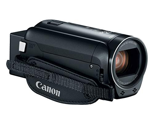 Canon VIXIA HF R80 Portable Video Camera Camcorder with Built-in Wi-fi, Full HD CMOS Sensor, 3.0-inch Touch Panel LCD, Digic DV 4, and 57x Advanced Zoom (Renewed)