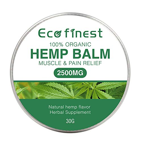 DDbrand Hemp Balm Salve Cream Muscle Pain Relief with 2500mg Herbal Supplemant